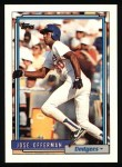 1992 Topps #493  Jose Offerman  Front Thumbnail
