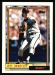 1992 Topps #491  Jeff Brantley  Front Thumbnail