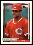 1992 Topps #332  Chris Jones  Front Thumbnail
