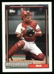 1992 Topps #91  Jeff Reed  Front Thumbnail