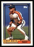1992 Topps #214  Andy Mota  Front Thumbnail