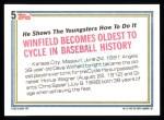 1992 Topps #5   -  Dave Winfield Record Breaker Back Thumbnail