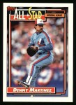 1992 Topps #394   -  Dennis Martinez All-Star Front Thumbnail