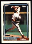 1992 Topps #599  Steve Searcy  Front Thumbnail