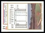 1992 Topps #21  Buck Rodgers  Back Thumbnail