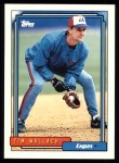 1992 Topps #385  Tim Wallach  Front Thumbnail