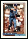 1992 Topps #16  Jeff Montgomery  Front Thumbnail