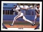 1993 Topps #547  Ryan Thompson  Front Thumbnail