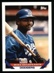 1993 Topps #526  Mike Sharperson  Front Thumbnail