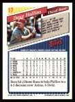 1993 Topps #17  Dave Hollins  Back Thumbnail