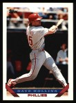1993 Topps #17  Dave Hollins  Front Thumbnail