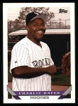 1993 Topps #759  Charlie Hayes  Front Thumbnail