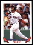 1993 Topps #725  Billy Hatcher  Front Thumbnail
