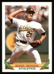 1993 Topps #73  Mike Moore  Front Thumbnail
