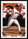 1993 Topps #283  Mike Jackson  Front Thumbnail