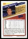 1993 Topps #251  Mike Bielecki  Back Thumbnail
