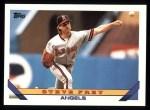 1993 Topps #728  Steve Frey  Front Thumbnail