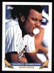 1993 Topps #556  Darryl Hamilton  Front Thumbnail