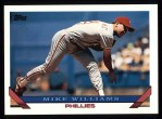 1993 Topps #99  Mike Williams  Front Thumbnail
