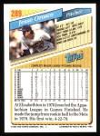 1993 Topps #289  Jesse Orosco  Back Thumbnail