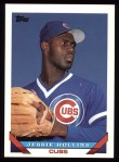 1993 Topps #487  Jesse Hollins  Front Thumbnail