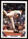 1993 Topps #86  John Habyan  Front Thumbnail