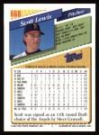 1993 Topps #668  Scott Lewis  Back Thumbnail