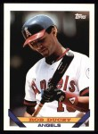 1993 Topps #293  Rob Ducey  Front Thumbnail