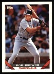 1993 Topps #566  Rod Brewer  Front Thumbnail