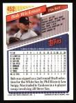 1993 Topps #452  Bob Wickman  Back Thumbnail
