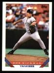 1993 Topps #452  Bob Wickman  Front Thumbnail