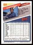 1993 Topps #654  Gerald Williams  Back Thumbnail