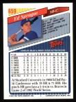 1993 Topps #659  Ed Sprague  Back Thumbnail
