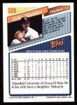 1993 Topps #329  Mike Maddux  Back Thumbnail