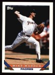 1993 Topps #329  Mike Maddux  Front Thumbnail