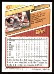 1993 Topps #437  Chris Hammond  Back Thumbnail