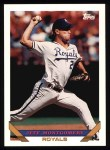 1993 Topps #130  Jeff Montgomery  Front Thumbnail