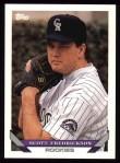 1993 Topps #489  Scott Fredrickson  Front Thumbnail