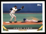 1993 Topps #108  Jose Lind  Front Thumbnail