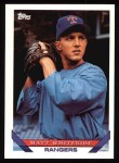 1993 Topps #468  Matt Whiteside  Front Thumbnail