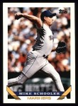 1993 Topps #258  Mike Schooler  Front Thumbnail