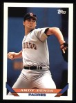 1993 Topps #568  Andy Benes  Front Thumbnail