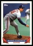 1993 Topps #314  Mark Gardner  Front Thumbnail