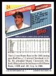 1993 Topps #24  Tim Naehring  Back Thumbnail
