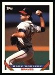 1993 Topps #8  Mark Wohlers  Front Thumbnail