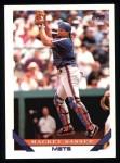 1993 Topps #788  Mackey Sasser  Front Thumbnail