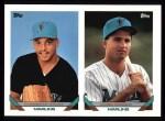 1993 Topps #599  Clemente Nunez  Front Thumbnail