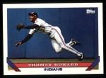 1993 Topps #113  Thomas Howard  Front Thumbnail