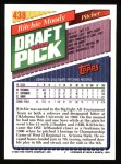 1993 Topps #438  Ritchie Moody  Back Thumbnail
