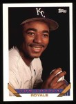 1993 Topps #611  Tom Gordon  Front Thumbnail